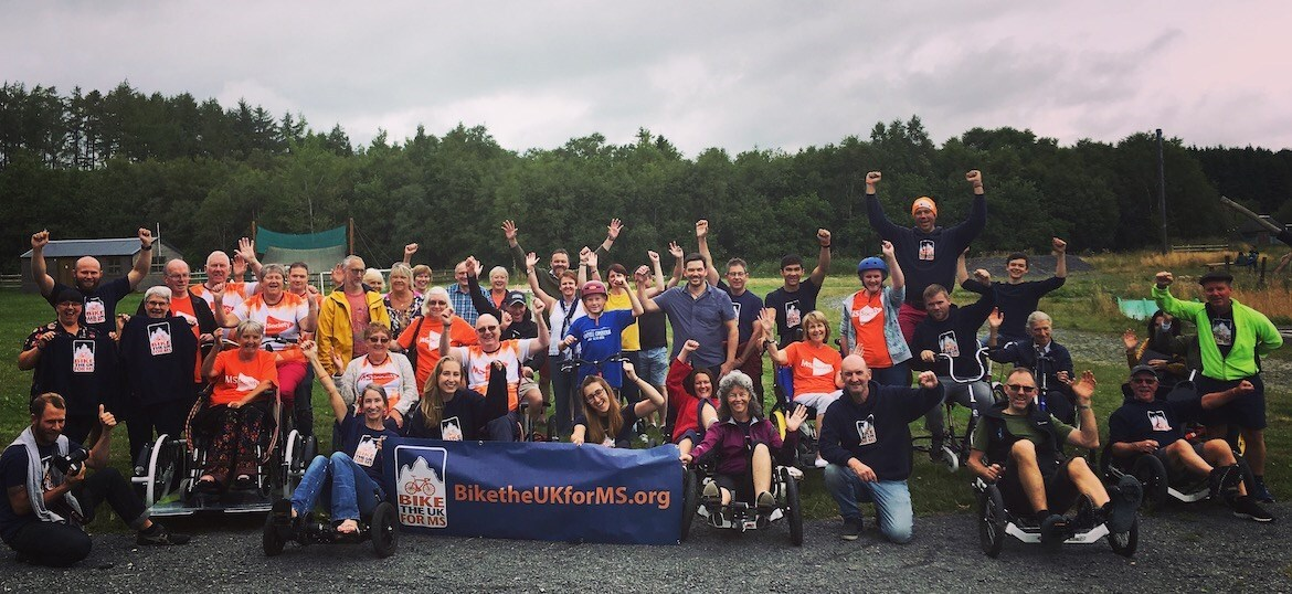 Bike the UK for MS